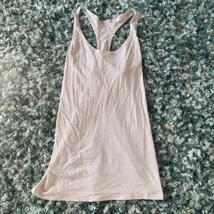 Under Armour Sheer White Tank Top M